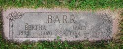 Walter Barr, Sr.