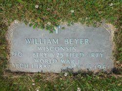 PFC William Beyer