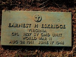 Corp Earnest H Eskridge