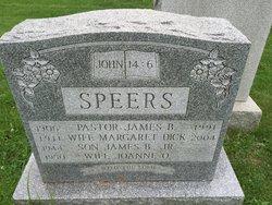 Margaret <I>Dick</I> Speers
