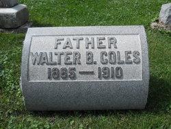 Walter B Coles