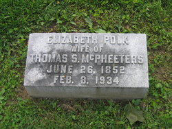 Elizabeth <I>Polk</I> McPheeters