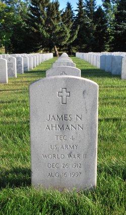 James Nicholas Ahmann