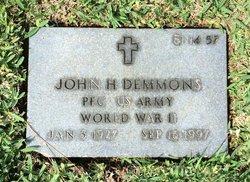John Harrison Demmons
