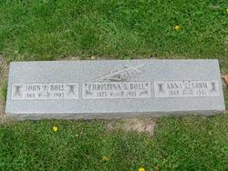Christina <I>Sahm</I> Boll