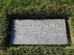 Vivian Loraine Simmons