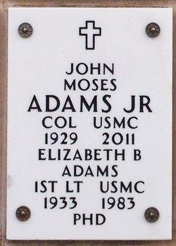 Dr Elizabeth <I>Byrne</I> Adams