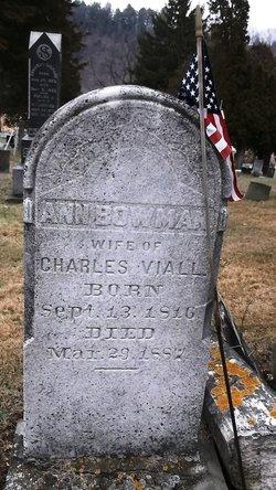 Anna <I>Bowman</I> Viall