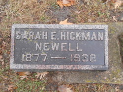 Sarah Elizabeth <I>Hickman</I> Newell