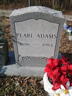 Pearl <I>Jones</I> Adams
