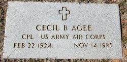 Cecil Agee