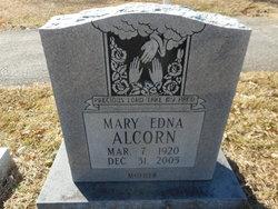 Mary Edna <I>Hale</I> Alcorn