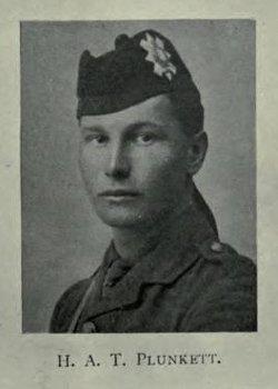 Lieutenant Havelock A.T. Plunkett