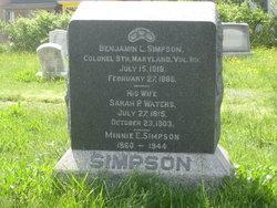 Col Benjamin L. Simpson