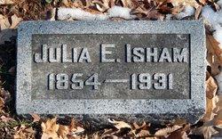 Julia Elizabeth <I>Rouse</I> Isham