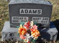 Oscar H Adams