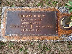 "Thomas Hiram ""Bud"" Roy, Jr"