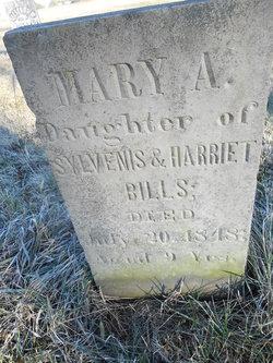 Mary A Bills