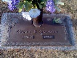 Grace E Simpson