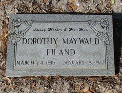 Dorothy A. <I>Alexander</I> Eiland