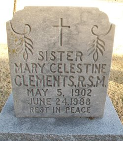 Sr Mary Celestine Clements
