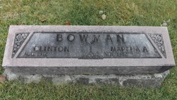 Martha Ann <I>Logan</I> Bowman