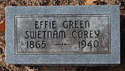 Effie Herman <I>Green</I> Corey