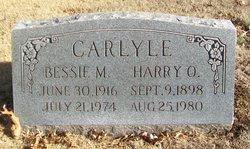 Bessie M <I>Greer</I> Carlyle