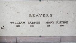 Mary Justine Beavers