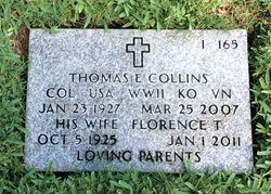 Florence T Collins
