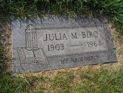 Julia M <I>Grunda</I> Biro