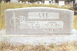 Jennie Lou <I>Cox</I> Lee