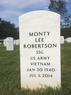 Monty Lee Robertson