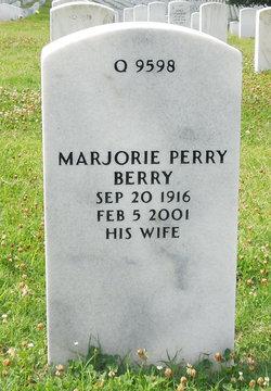 Marjorie <I>Perry</I> Berry