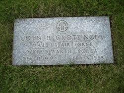 John R Grotzinger