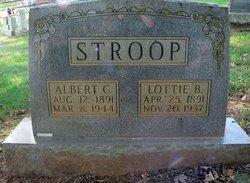 """Albert Cleveland """"Teet"""" Stroop"""