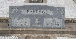 Ottillie Tillie <I>Durst</I> Baethge