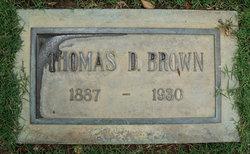 Thomas D. Brown