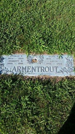 Elsie Amoret <I>Brown</I> Armentrout