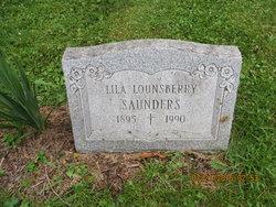 Lila B. <I>Lounsberry</I> Saunders