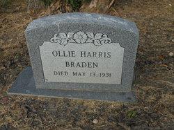 Ollie <I>Harris</I> Braden