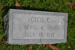 Cecil G Hotton