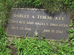Shirley A. <I>Tebeau</I> Key