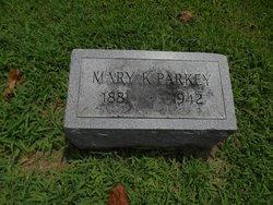 Mary Jane <I>Cates</I> Parkey