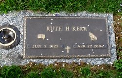 Ruth <I>Hanshaw</I> Kerr