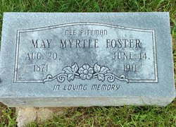May Myrtle <I>Pitman</I> Foster