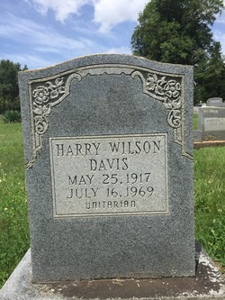 Harry Wilson Davis