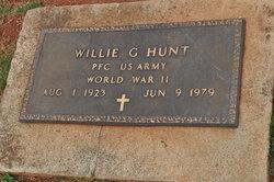 PFC Willie G. Hunt
