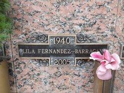 Lila <I>Fernandez</I> Barragan
