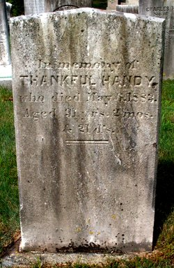 Thankful <I>Tinkham</I> Handy
